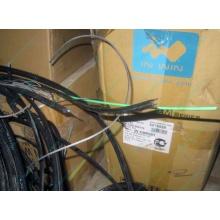 Оптический кабель Б/У для внешней прокладки (с металлическим тросом) в Крыму, оптокабель БУ (Крым)
