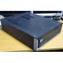 Лежачий четырехядерный компьютер Intel Core 2 Quad Q8400 (4x2.66GHz) /2Gb DDR3 /250Gb /ATX 250W Slim Desktop (Крым)