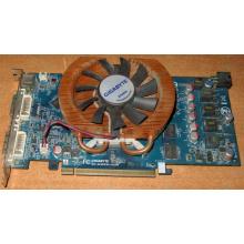 Глючная видеокарта 512Mb DDR3 nVidia GeForce 9800GT Gigabyte GV-N98TZL-512H PCI-E (Крым)