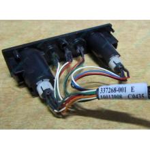 HP 224998-001 в Крыму, кнопка включения питания HP 224998-001 с кабелем для сервера HP ML370 G4 (Крым)