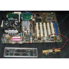 Материнская плата Asus P4PE (FireWire) с процессором Intel Pentium-4 2.4GHz s.478 и памятью 768Mb DDR1 Б/У (Крым)